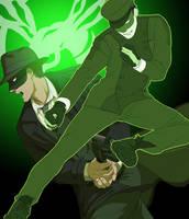 Green Hornet by doubleleaf