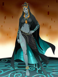 Commish:Midna by doubleleaf