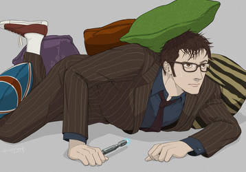 Tenth Doctor by doubleleaf