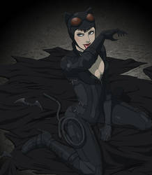 Catwoman by doubleleaf