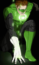 Green Lantern by doubleleaf