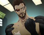 Deus Ex HR by doubleleaf