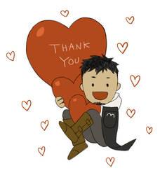THANK YOU by doubleleaf