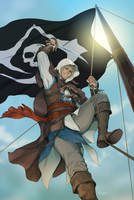 Titan Comics - Assassin's Creed Awakening #6 Cover by doubleleaf