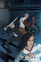 Titan Comics - Assassins Creed Uprising #5 Cover by doubleleaf