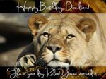 Happy Birthday Danilion! by NateDSaint