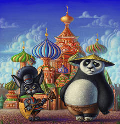 Po in Moscow by nik159