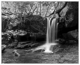 Kbal Spean-Waterfall #1 by Roger-Wilco-66