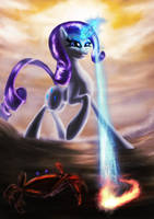 Crab VS. Giant Enemy Rarity! by Zolombo