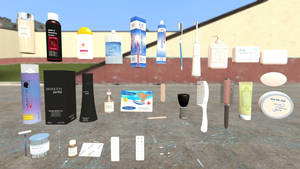 toiletries props for Gmod by 13alan13