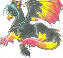 You call that a dragon? by ShadesofRain