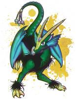 Ellis the Dragon (2012) by lastres0rt