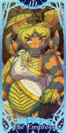 Webcomics Tarot - III The Empress - Veled by lastres0rt