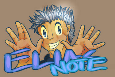Badge - Elias Note the Guitarist by lastres0rt