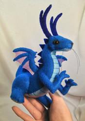 baby dragon plush 2 by SewLolita