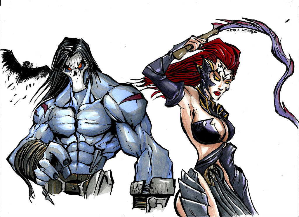 Darksiders favourites by WhiteFlamePaladin on DeviantArt