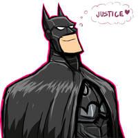 $15 COMMISSION SALE: BATMAN by Sabrerine911