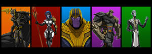 THANOS AND THE BLACK ORDER FINAL by Sabrerine911