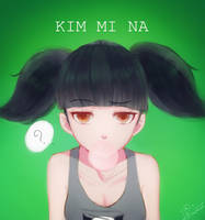 Porkchop'n Flatscreen! : Kim Mi Na by I2izz