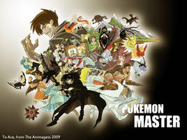 Pokemon MASTER: Group Shot by animagess