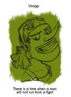 Daily Sketch 13: Usopp by kingofsnake