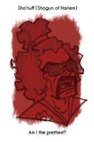 Daily Sketch 36: Sho'nuff by kingofsnake