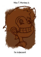 Daily Sketch 37: Max Monkey by kingofsnake