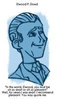 Daily Sketch 38: Elwood Dowd by kingofsnake