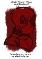 Daily Sketch 41: Deadpool by kingofsnake