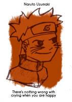 Daily Sketch 42: Naruto Uzumaki by kingofsnake