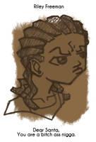 Daily Sketch 53: Riley Freeman by kingofsnake