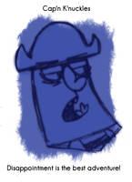 Daily Sketch 57: Capn Knuckles by kingofsnake