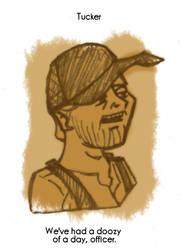 Daily Sketch 72: Tucker by kingofsnake