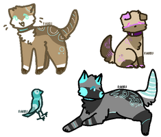 + House Pet Adoptables [CLOSED + by poki-saur