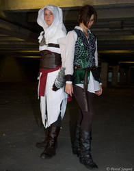 Altair and Ezio by REC-IN
