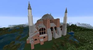 Minecraft - The Hagia Sophia by MinecraftArchitect90