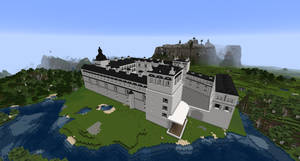 Minecraft - Palace of the Grand Dukes of Lithuania by MinecraftArchitect90