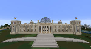 Minecraft - The Reichstag by MinecraftArchitect90