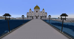 Minecraft - Cathedral of Christ the Saviour by MinecraftArchitect90
