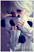 A Sad Panda Bear. by ForeverResin