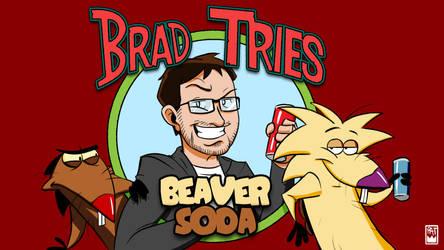 Brad Tries Beaver Soda by Pyrotech07