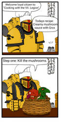 Cooking with the VII. Legion by TechmagusKhobotov