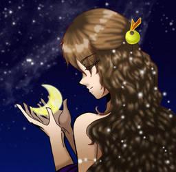 nyx - goddess of night by einhazen