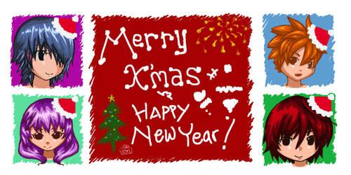 merry x'mas and happy new year ! by einhazen