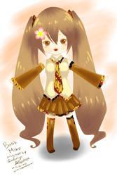 [Fanart] Hatsune Miku Batik ver. by einhazen