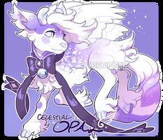 Anniversary Pouflon - Celestial Opal (closed) by tyronniesaur