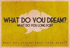 What do you dream? by Blugi