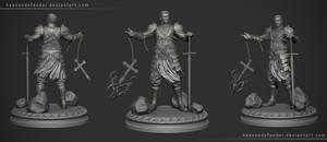 Tarot sculpt Final Preview 1 by HeavenDefender