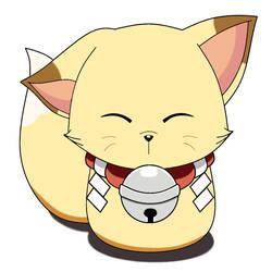 Kokkuri-san fox form by UnknownXz9