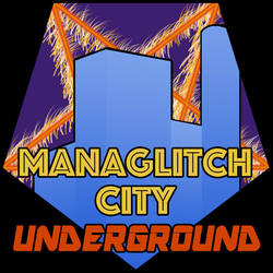 Managlitch City Underground logo by mikailborg